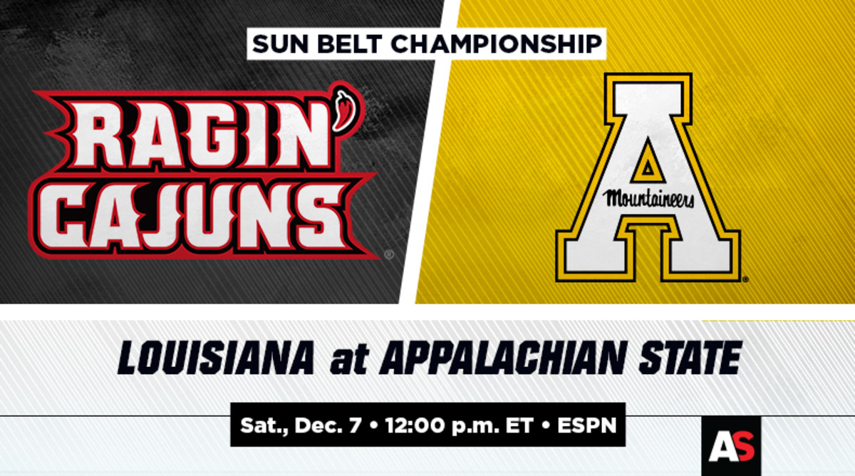 Sun Belt Championship Prediction and Preview: Louisiana vs. Appalachian State