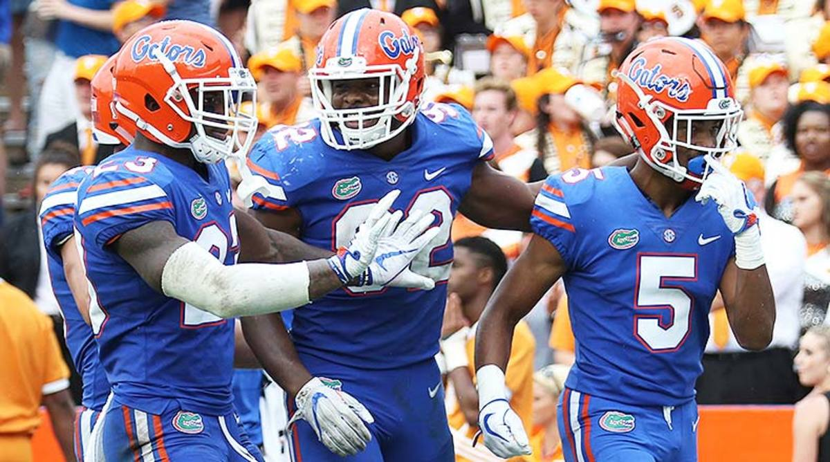 Florida Football: Ranking the Toughest Games on the Gators' Schedule