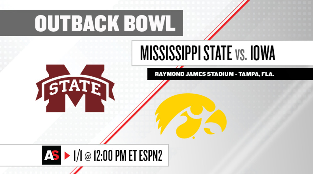 Outback Bowl Prediction and Preview: Mississippi State vs. Iowa