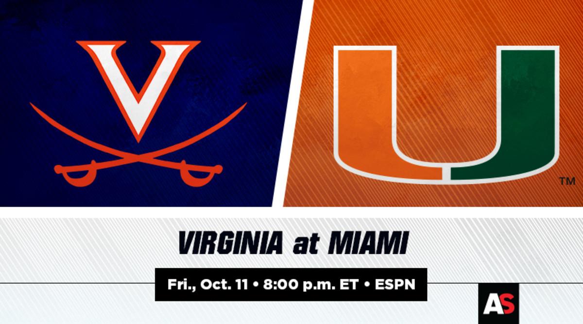 Virginia vs. Miami Football Prediction and Preview