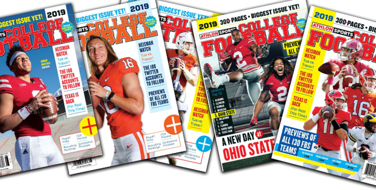 Athlon Sports' 2019 College Football Preview Magazine is Available Now