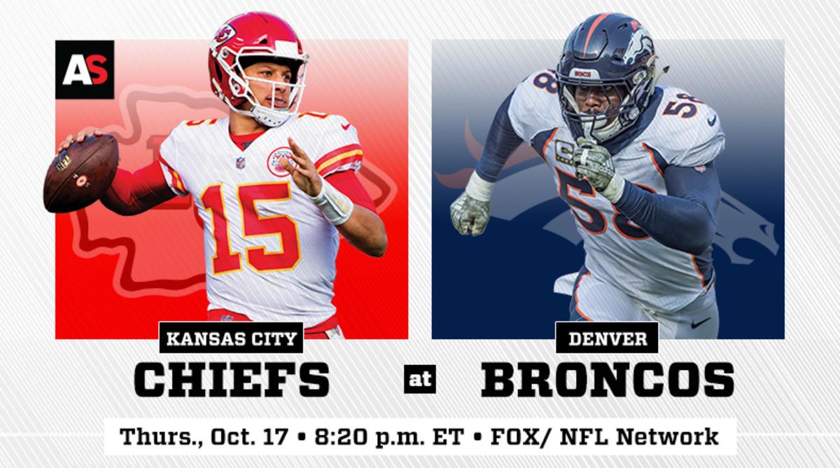 Thursday Night Football: Kansas City Chiefs vs. Denver Broncos Prediction and Preview