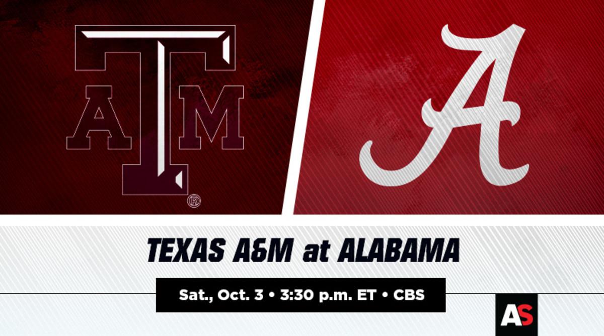 Texas A&M vs. Alabama Football Prediction and Preview