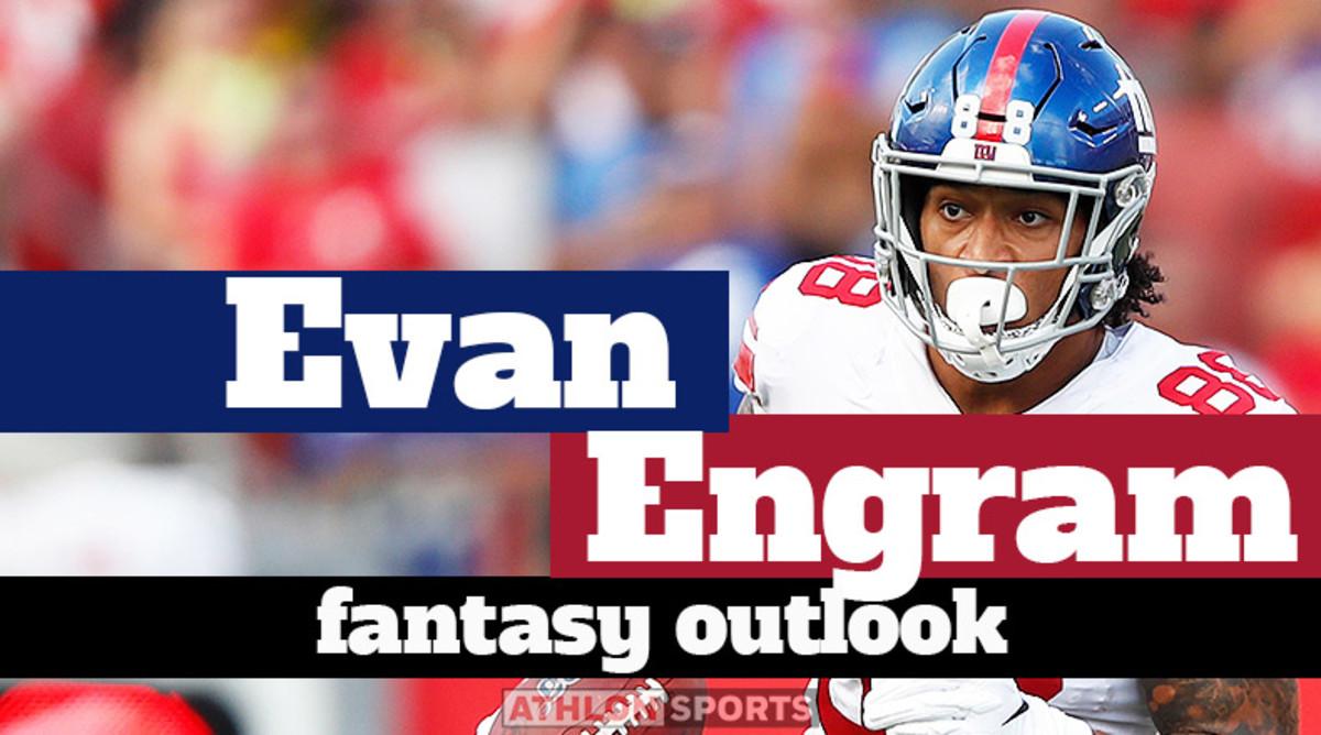Evan Engram: Fantasy Outlook 2020