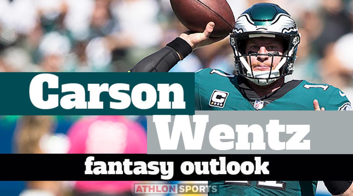 Carson Wentz: Fantasy Outlook 2020