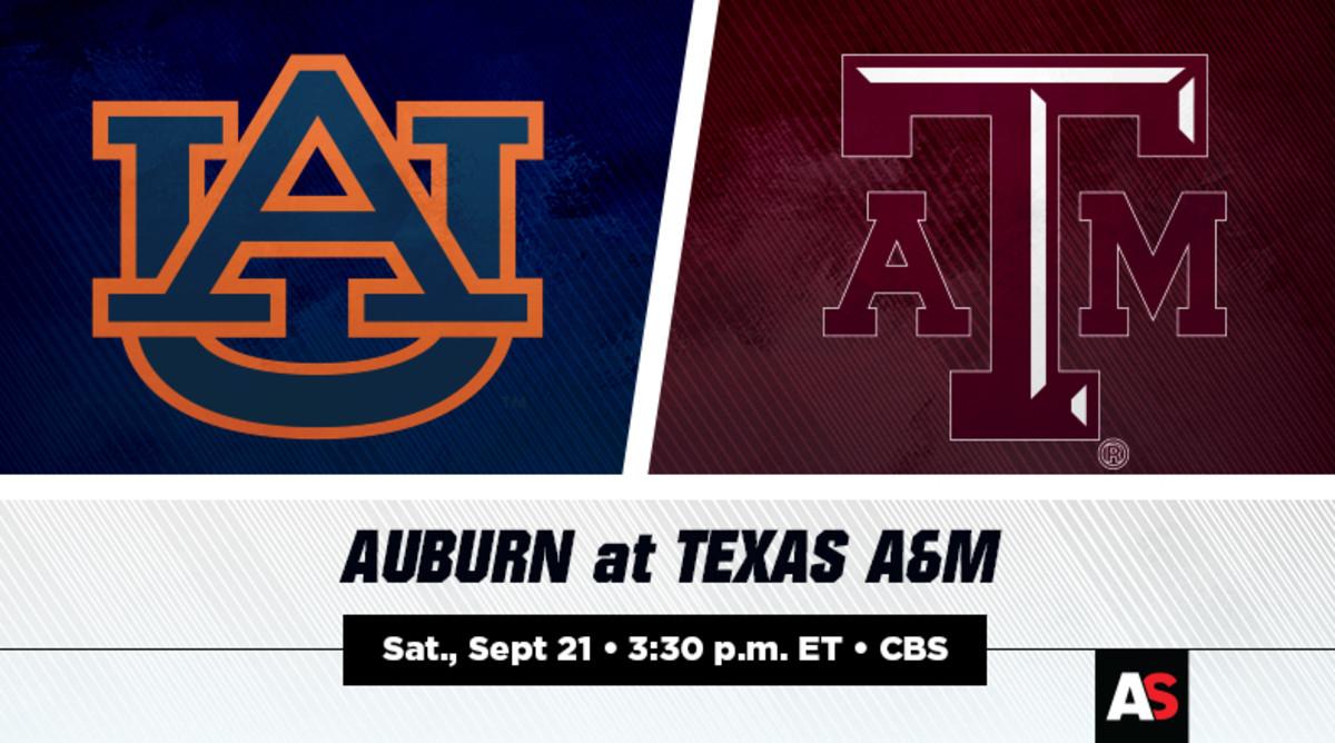 Auburn vs. Texas A&M Football Prediction and Preview