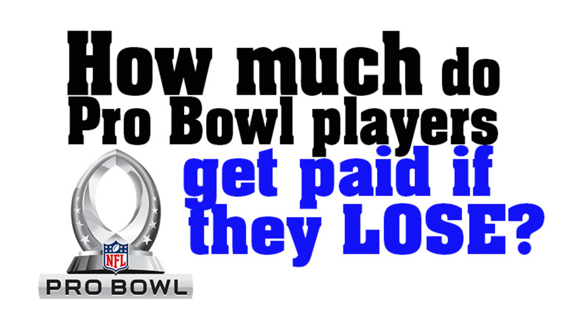 How Much Do Pro Bowl Players Get Paid If They Lose?