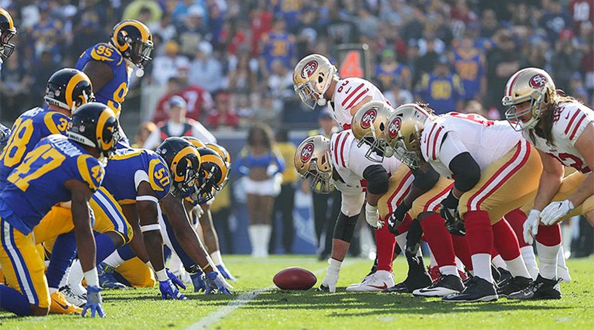 5 Greatest Los Angeles Rams vs. San Francisco 49ers Games