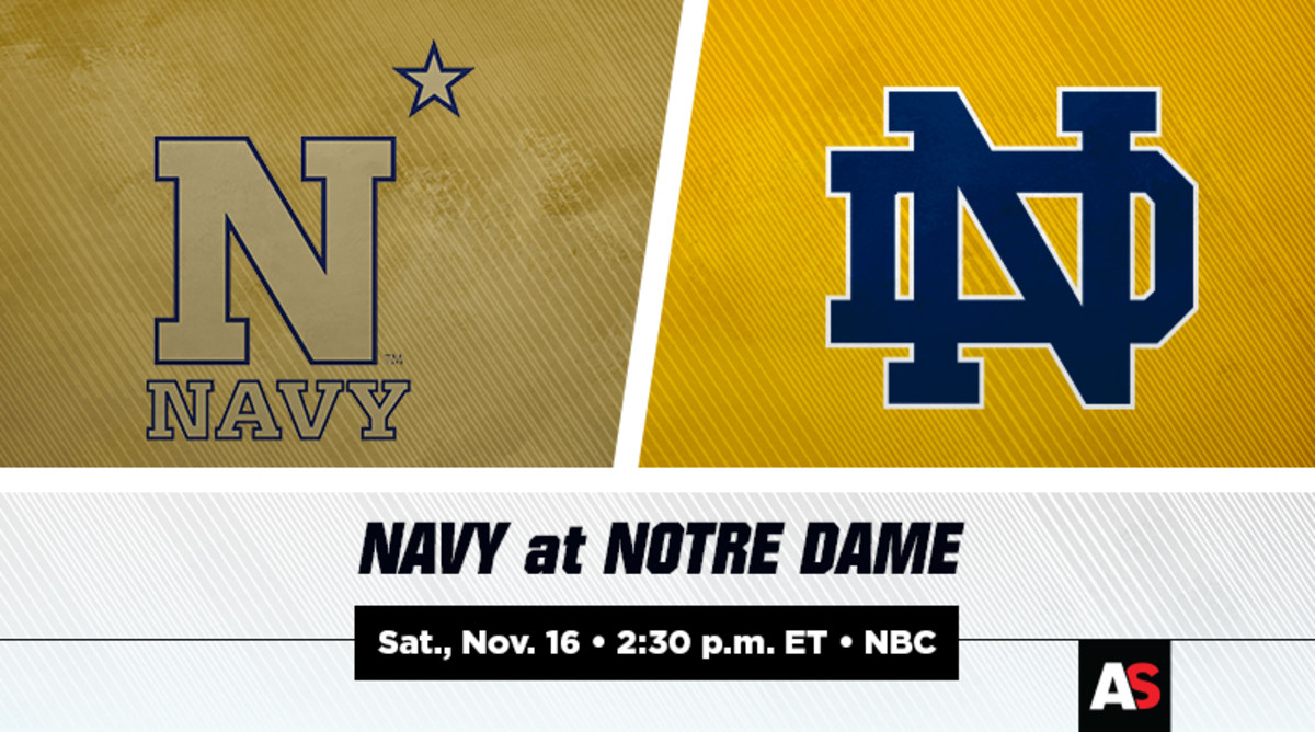 Navy vs. Notre Dame Football Prediction and Preview