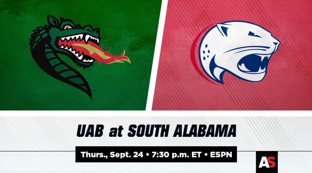 UAB vs. South Alabama Football Prediction and Preview