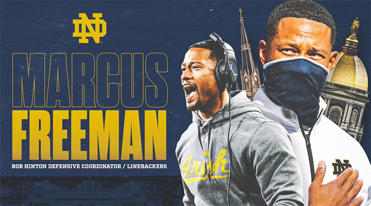 Notre Dame Football: Marcus Freeman Named New Defensive Coordinator