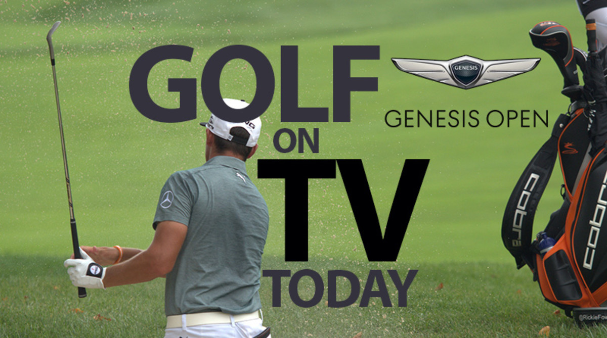 PGA Tour Golf on TV Today: Genesis Open at Riviera