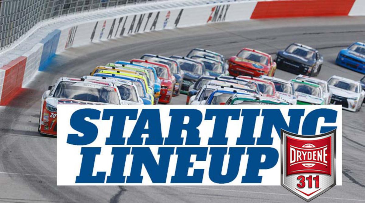 NASCAR Starting Lineup for Sunday's Drydene 311 at Dover International Speedway