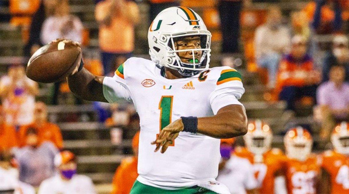 D'Eriq King, Miami Hurricanes Football
