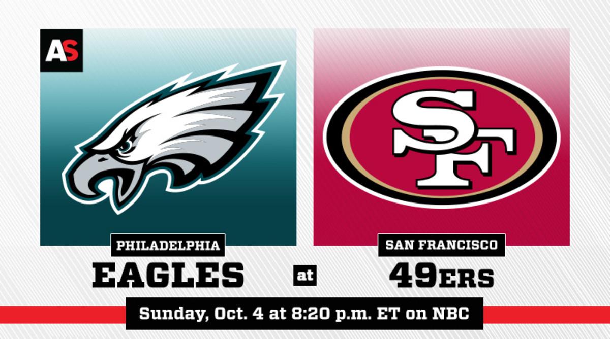 Sunday Night Football: Philadelphia Eagles vs. San Francisco 49ers Prediction and Preview