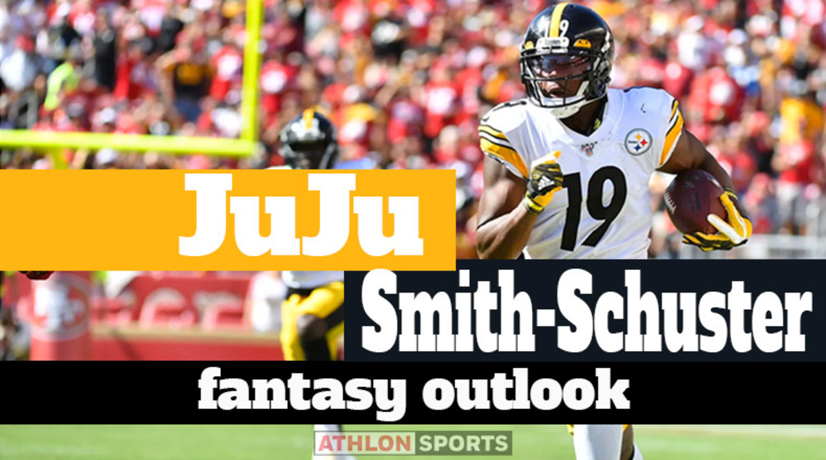 JuJu Smith-Schuster: Fantasy Outlook 2020