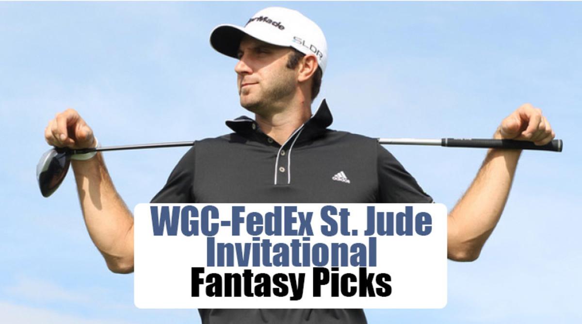 Dustin Johnson: WGC-FedEx St. Jude Invitational Fantasy Picks