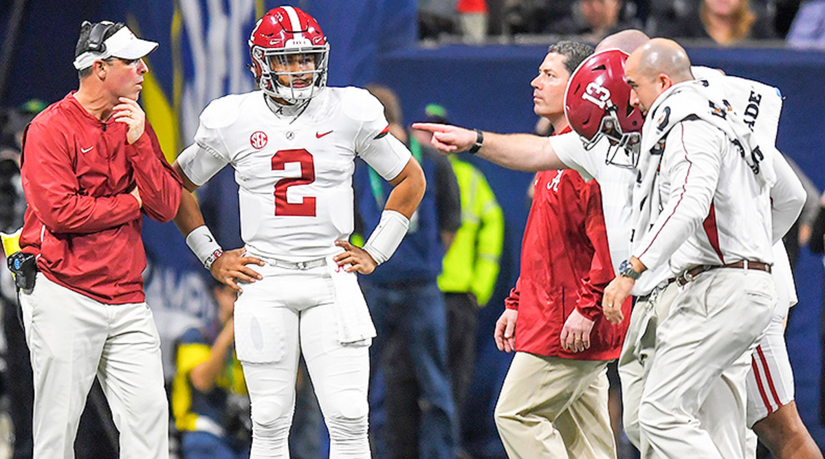 Seven-Step Drop: Forever Linked, Tua Tagovailoa and Jalen Hurts Showcase the Highs and Lows of College Football