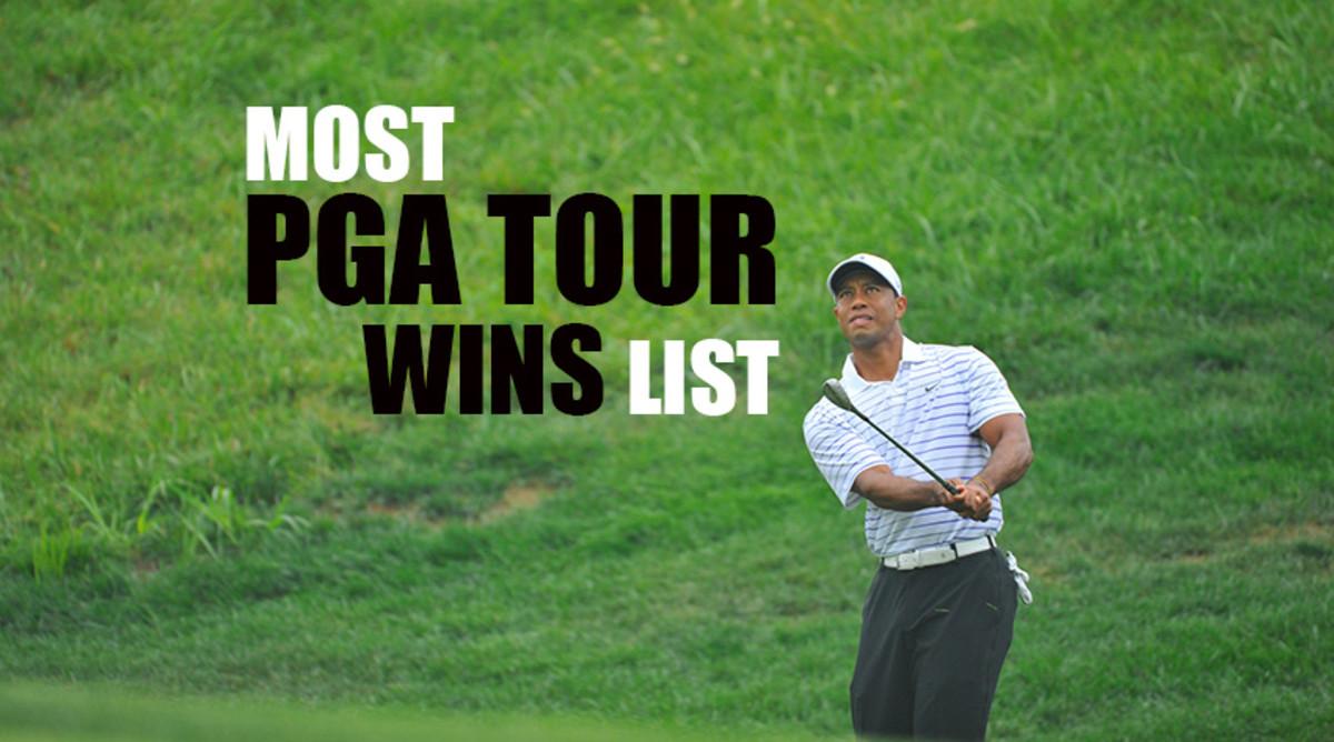 Most PGA Tour Wins