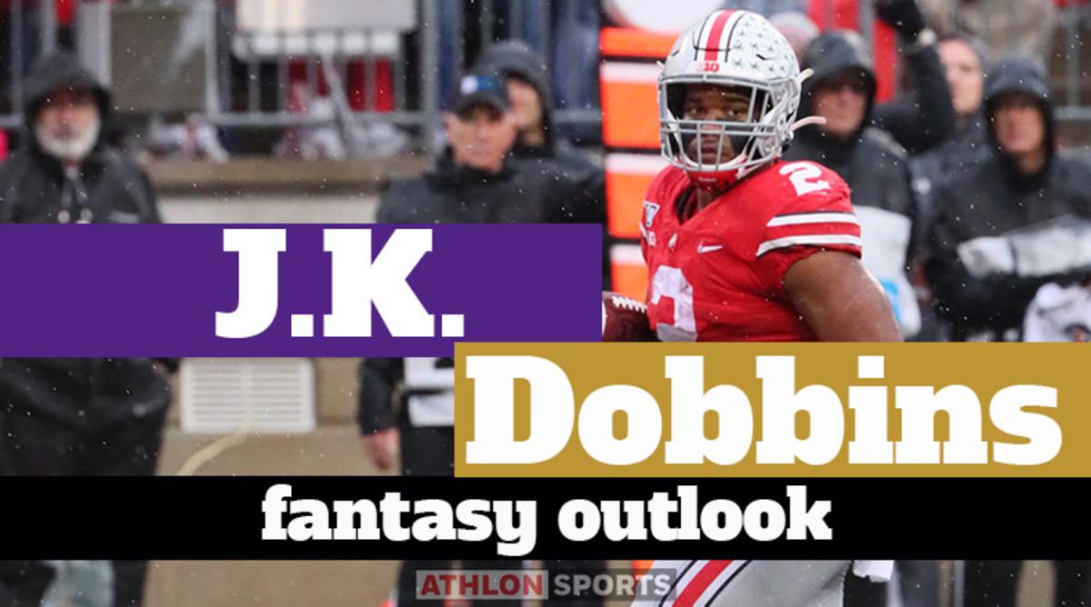J.K. Dobbins: Fantasy Outlook 2020