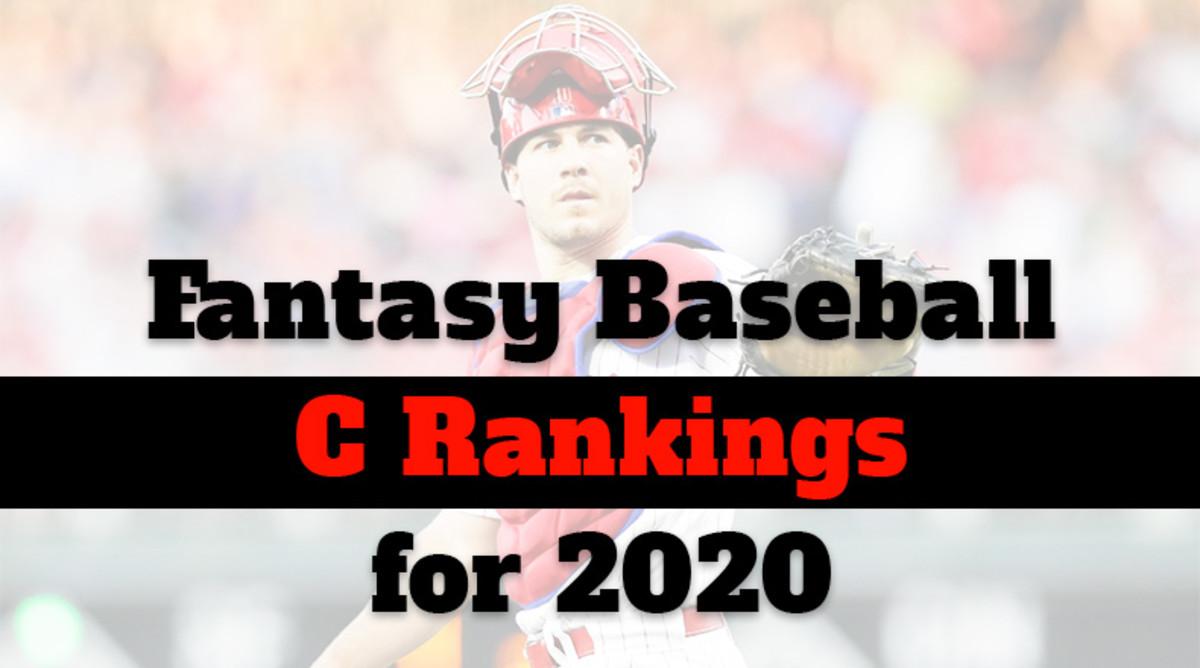Fantasy Baseball Cheat Sheet: Catcher Rankings for 2020