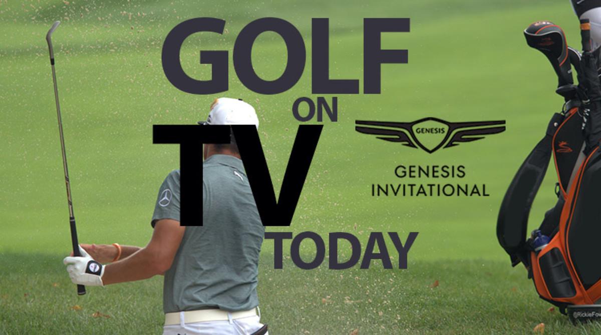 Golf on TV Today (Saturday, Feb. 15): Genesis Invitational