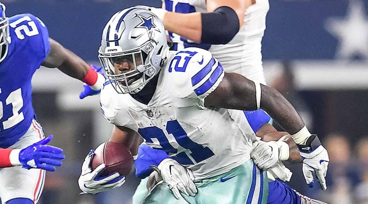 NFL Injury Report: Ezekiel Elliott