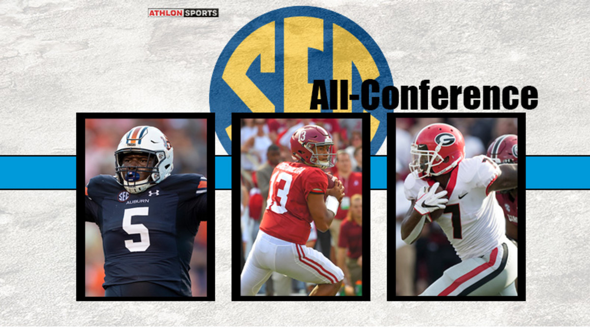 SEC Football 2019 All-Conference Team