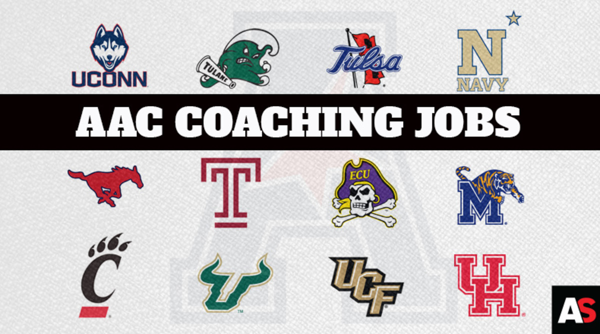Ranking the American Athletic Conference College Football Coaching Jobs