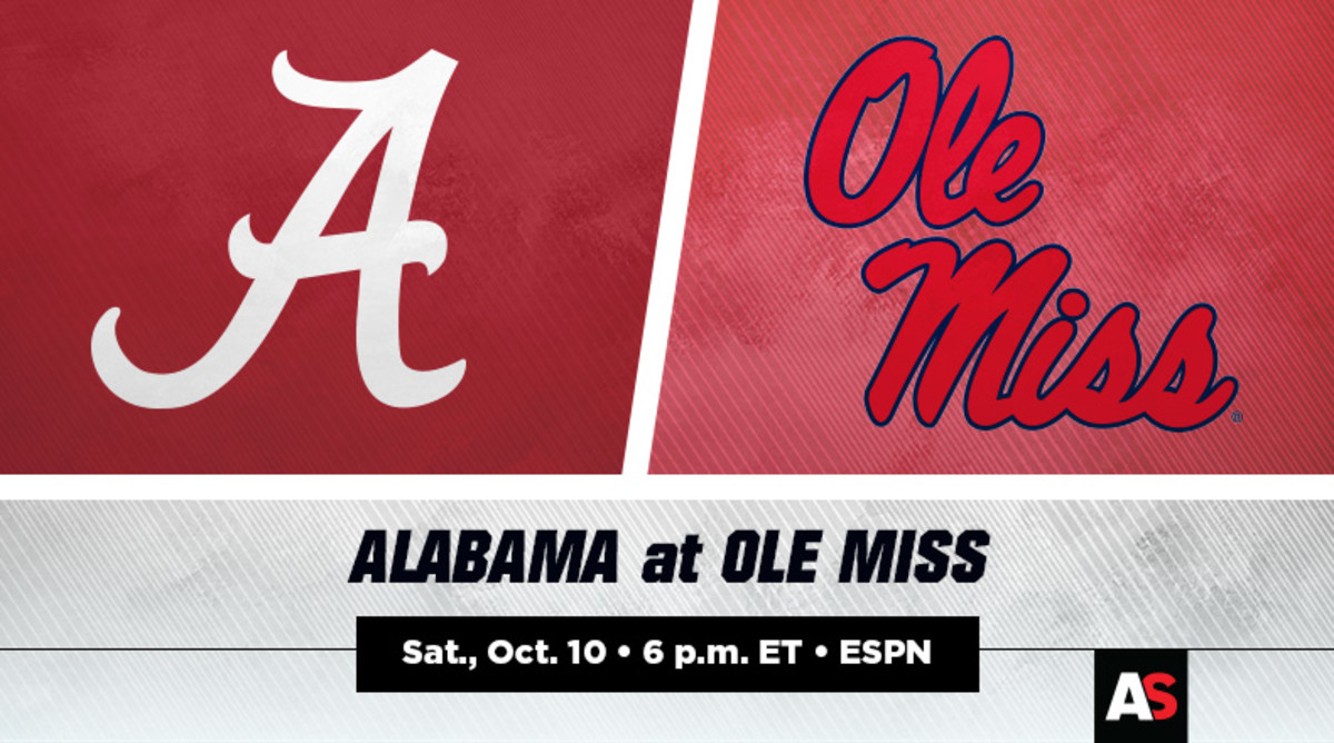 Alabama vs. Ole Miss Football Prediction and Preview
