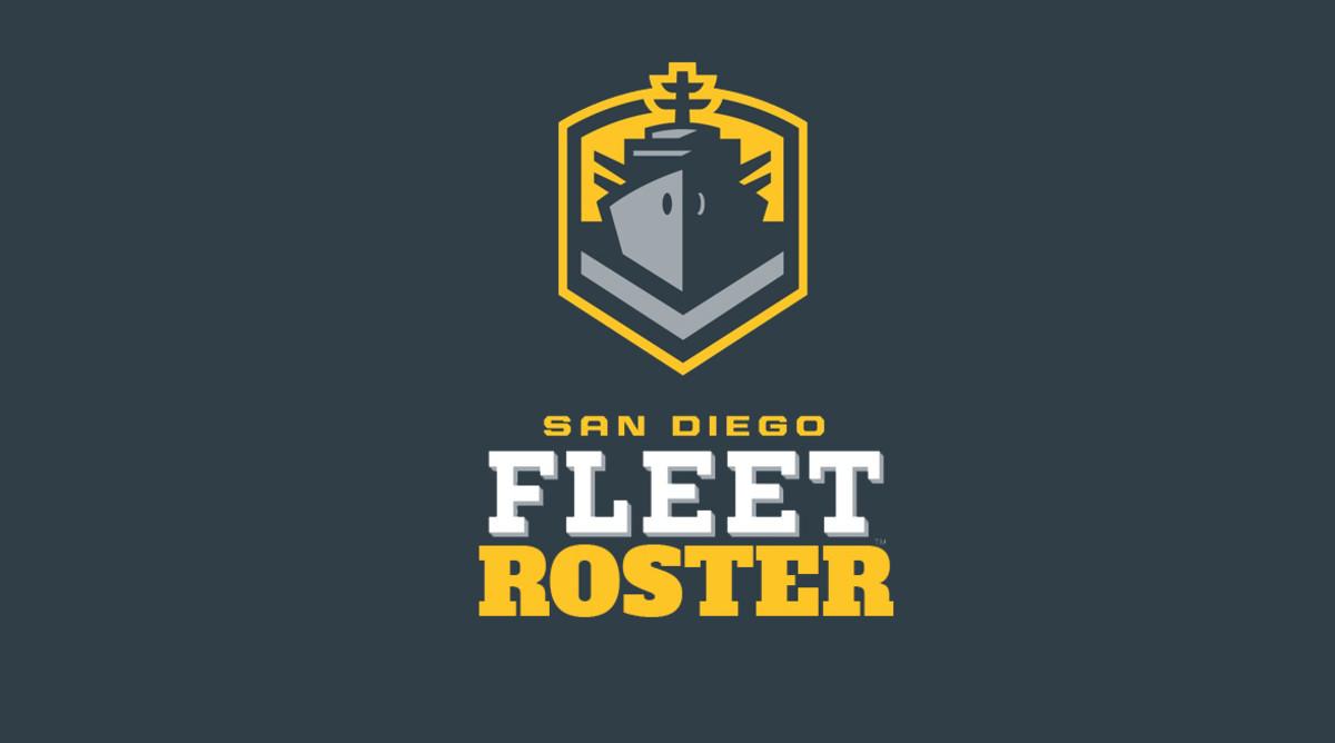 San Diego Fleet Roster (AAF Football)