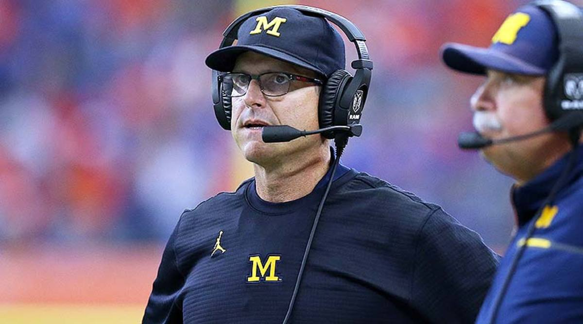 Seven-Step Drop: Jim Harbaugh Raised Michigan's Floor, But the Ceiling Remains as Far Away as Ever