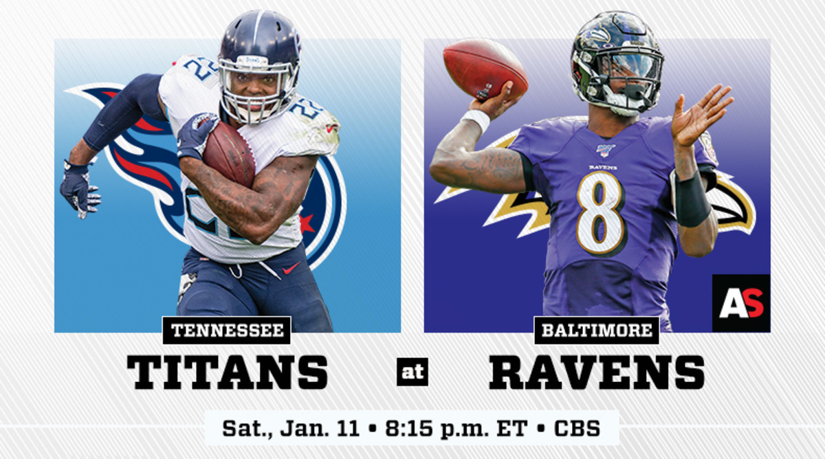 AFC Divisional Prediction and Preview: Tennessee Titans vs. Baltimore Ravens