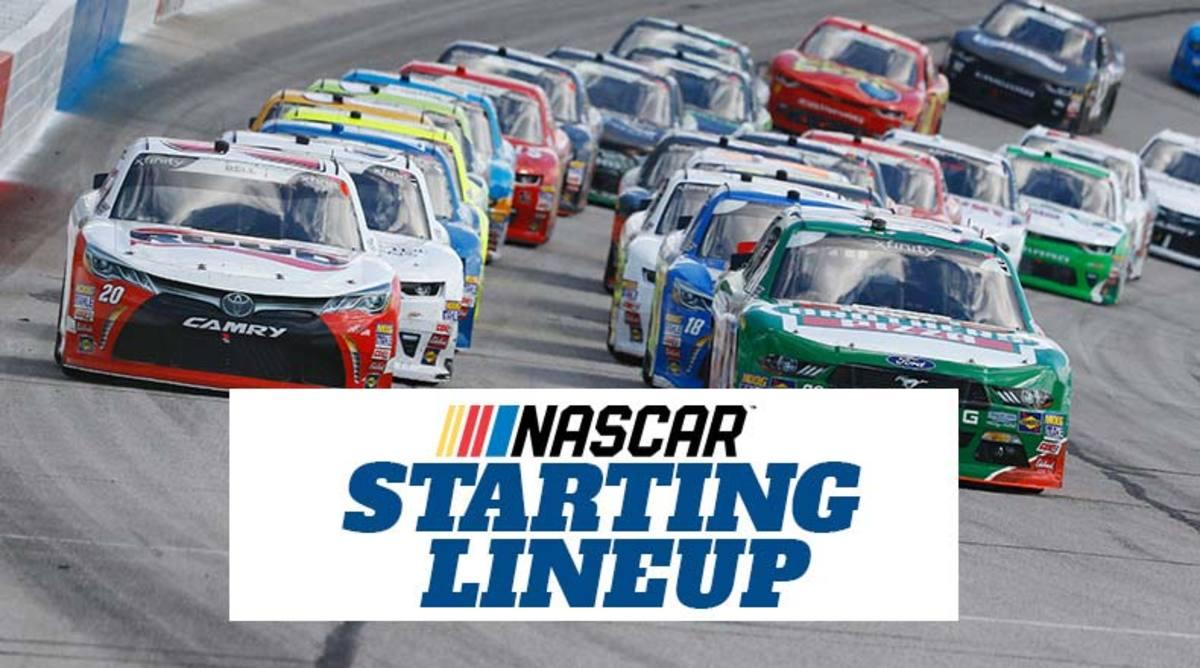 NASCAR Starting Lineup for Sunday's Goodyear 400 at Darlington Raceway