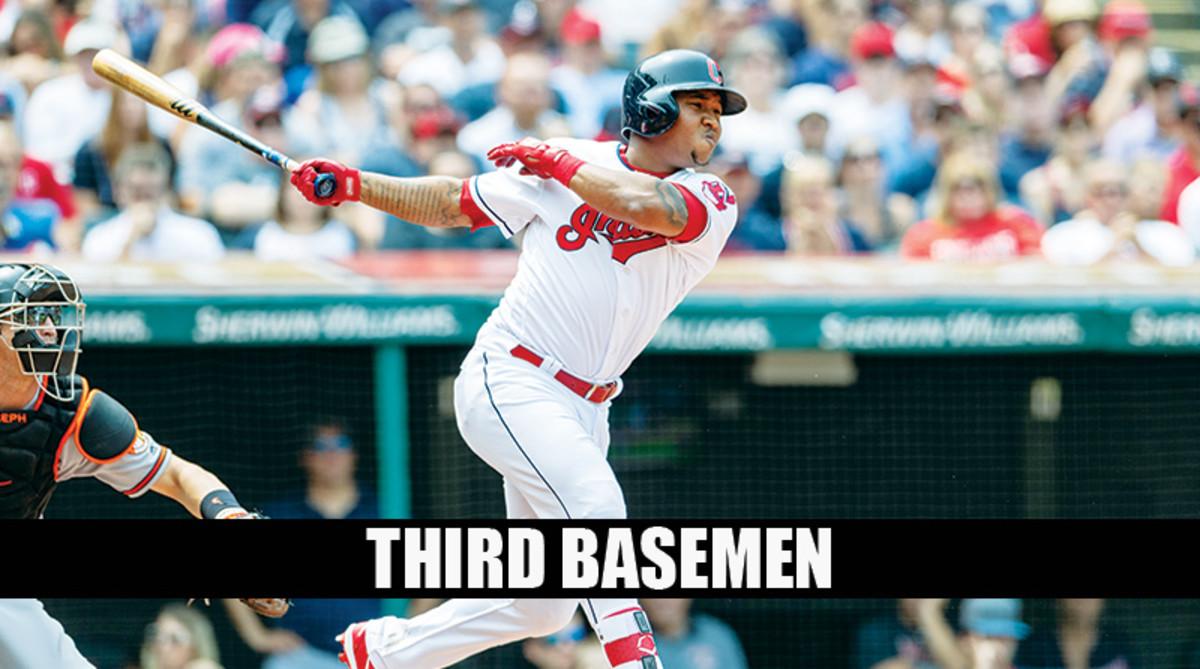 Jose Ramirez is a top-tier pick for Fantasy Baseball Third Basemen Rankings 2019