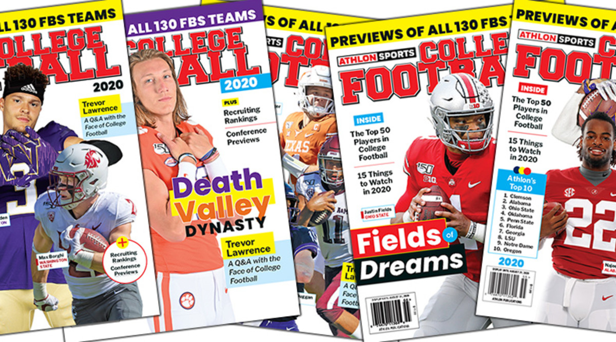 Order Athlon Sports' 2020 College Football Preview Magazines Now