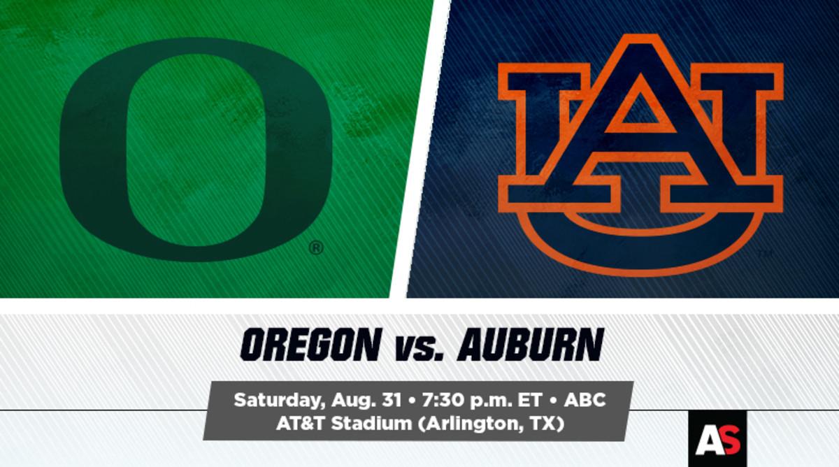 Oregon Ducks vs. Auburn Tigers Prediction