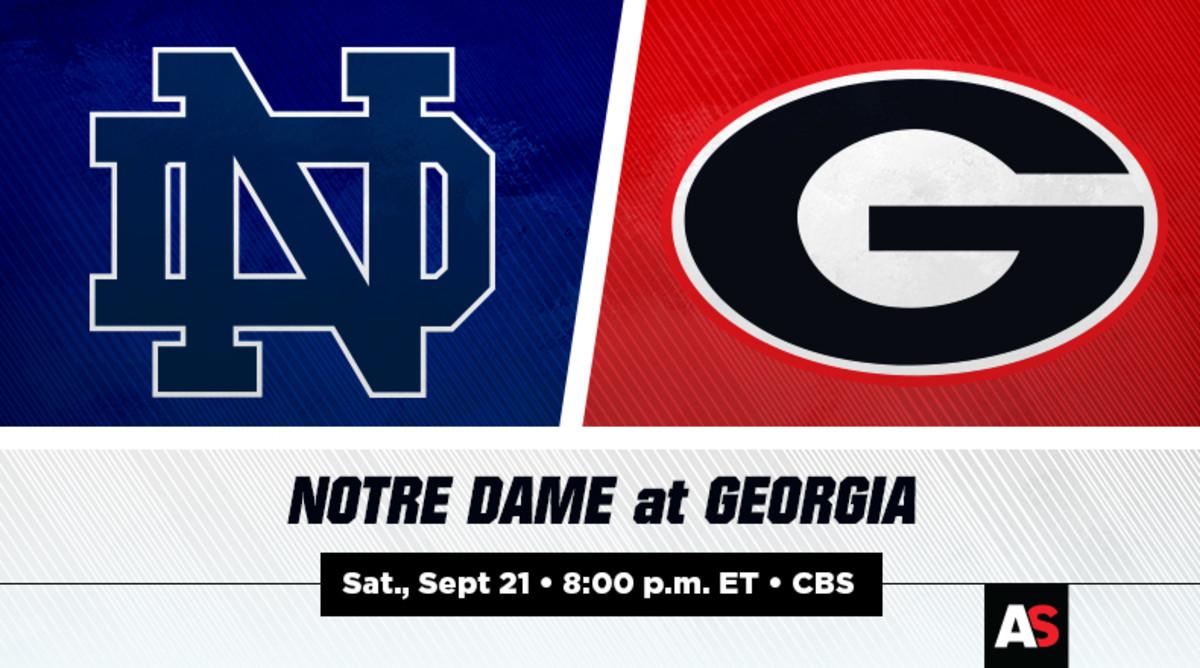 Notre Dame vs. Georgia Football Prediction and Preview