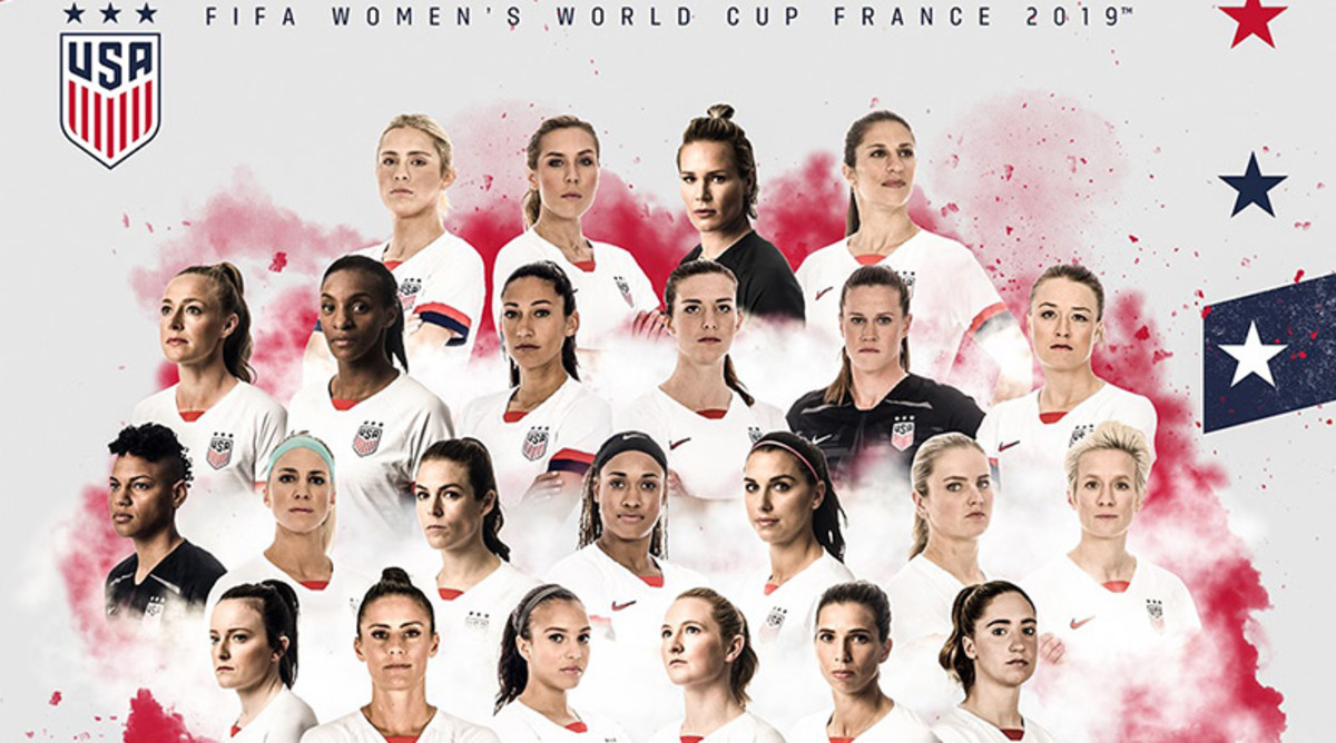 USWNT: Team USA Women's World Cup Roster for 2019