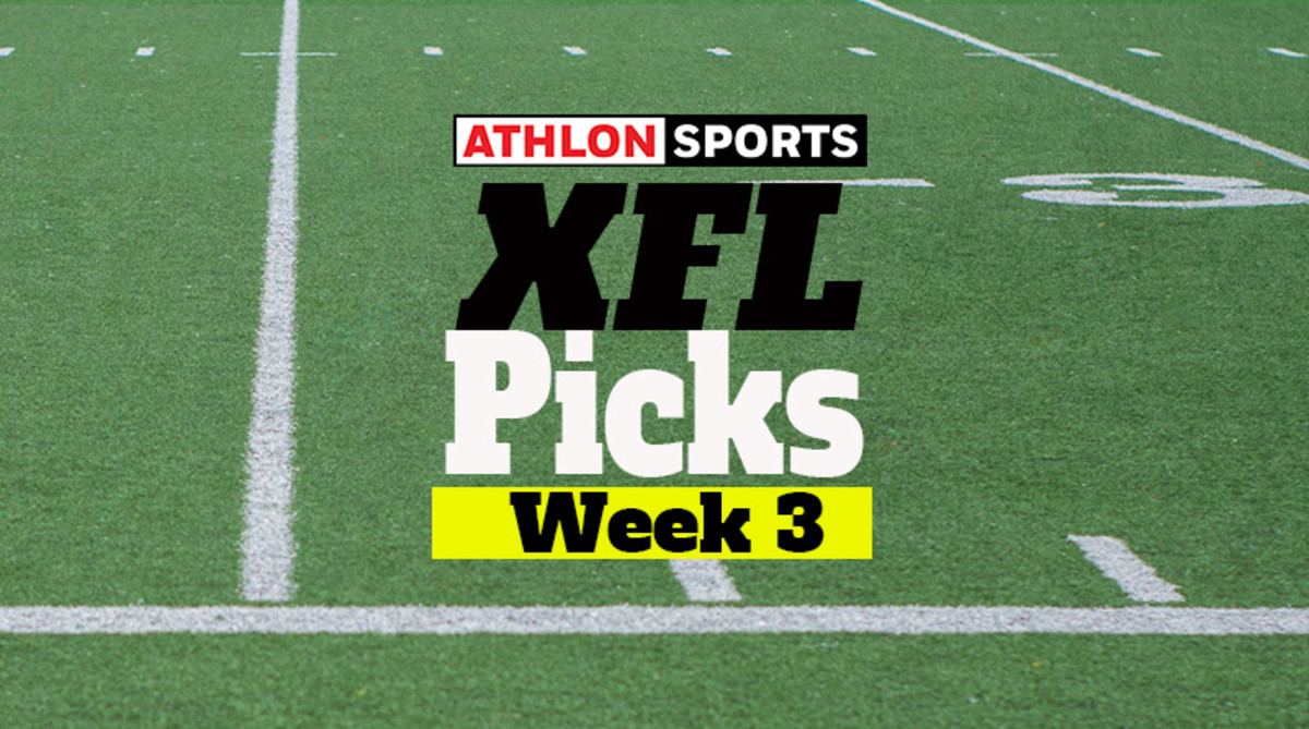 XFL Predictions: Week 3 Picks for Every Game