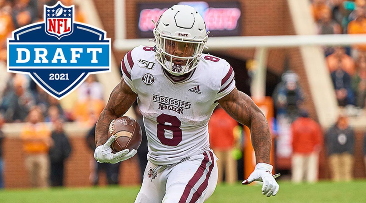 2021 NFL Draft Profile: Kylin Hill