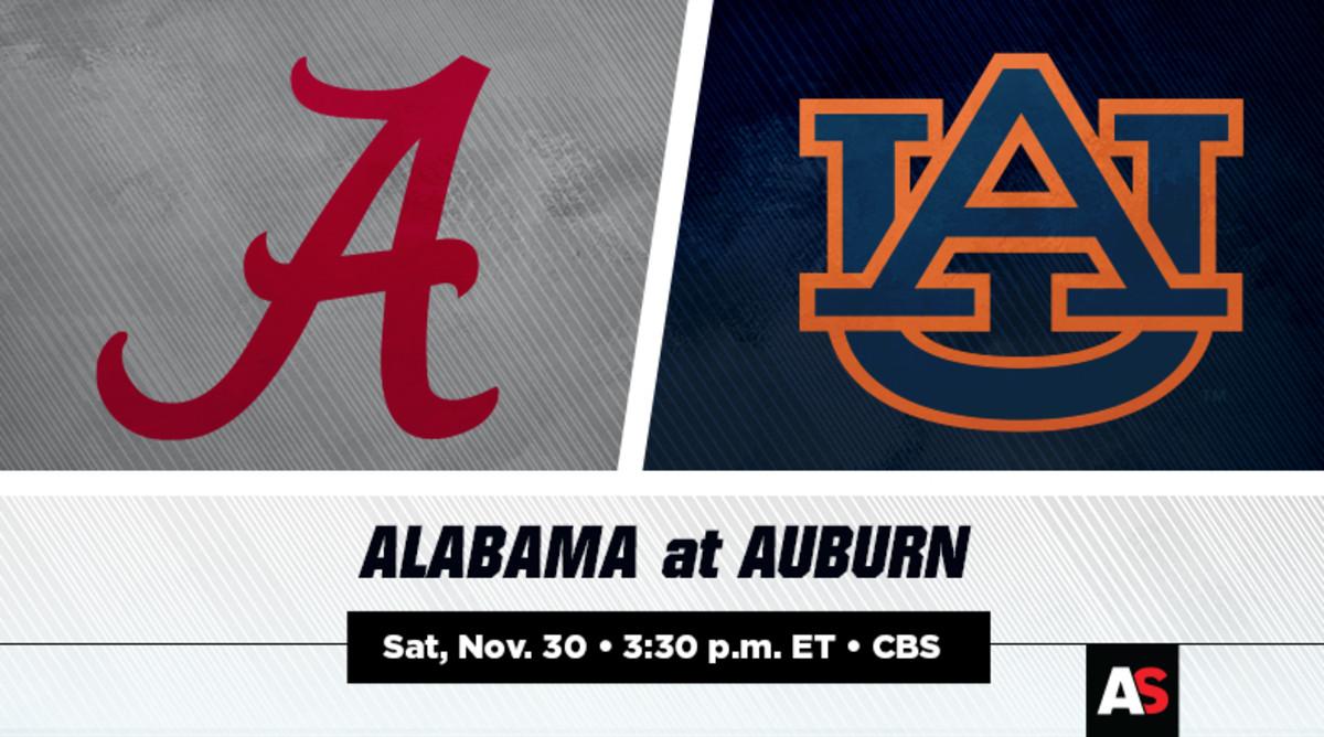 Alabama vs. Auburn Prediction and Preview