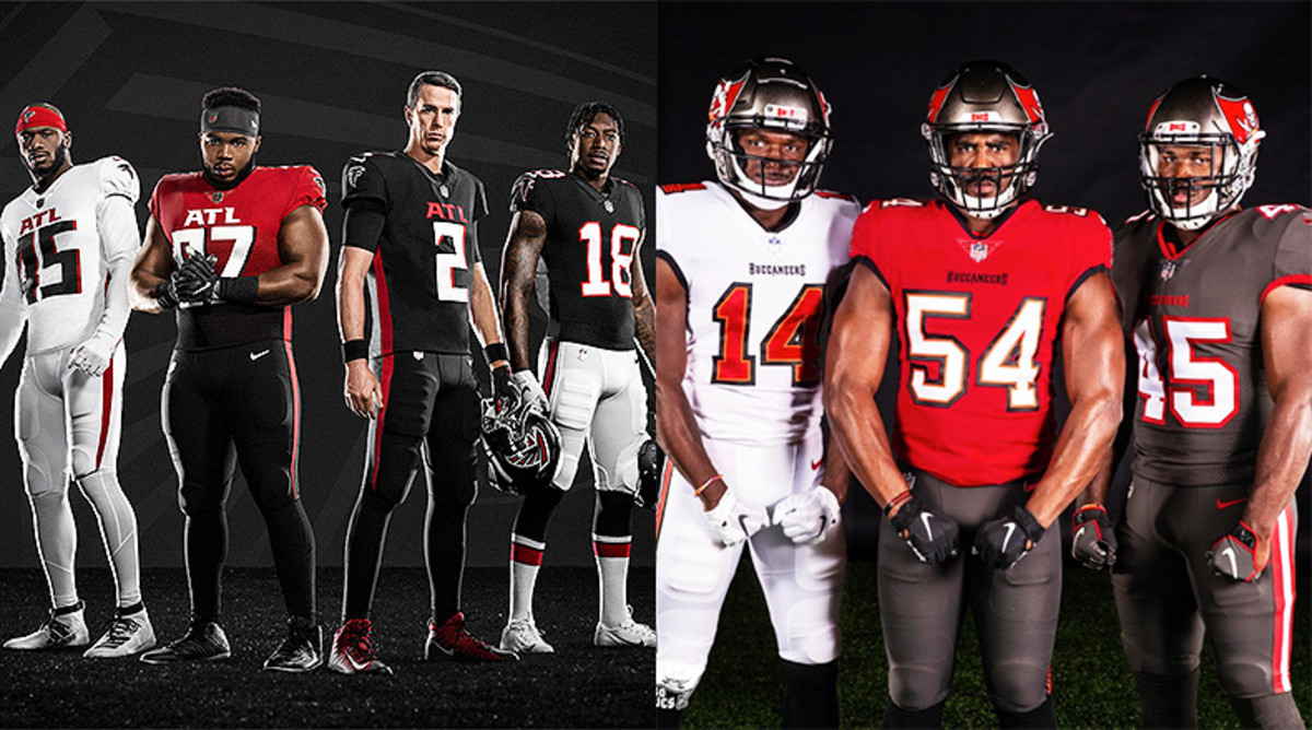 Atlanta Falcons or Tampa Bay Buccaneers: Which NFC South Team's New Uniforms are Better?