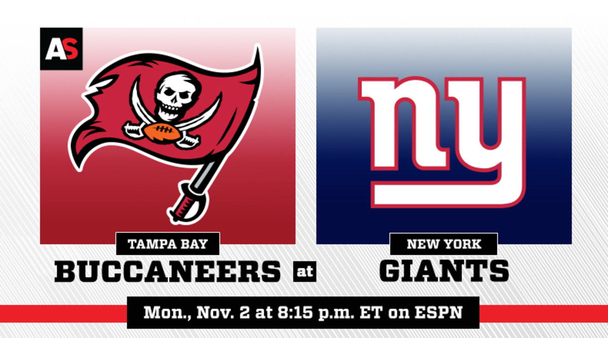 Monday Night Football: Tampa Bay Buccaneers vs. New York Giants Prediction and Preview