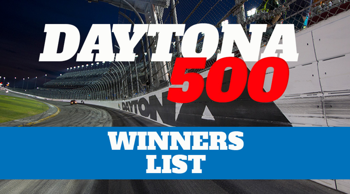 List of Daytona 500 Winners