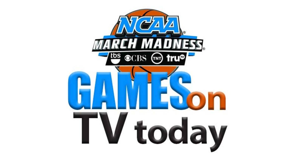 March Madness NCAA Tournament Games on TV Today (Saturday, March 23)