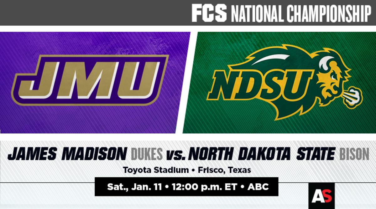 FCS Championship Game Prediction and Preview: James Madison vs. North Dakota State