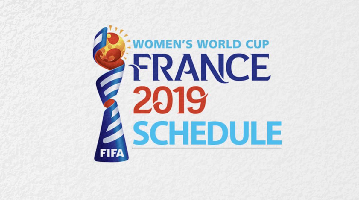 Women's World Cup 2019 Schedule