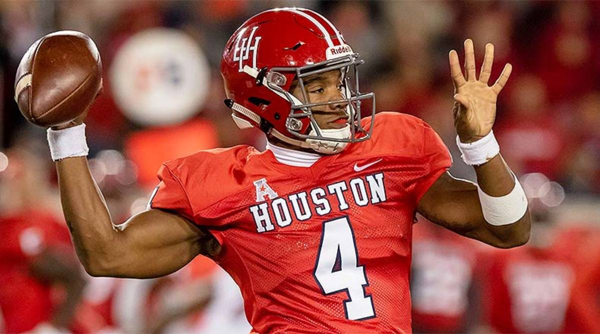 D'Eriq King, Houston Cougars Football