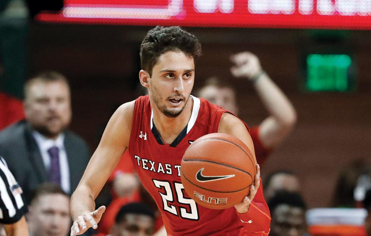 Texas Tech Red Raiders Basketball: Davide Moretti